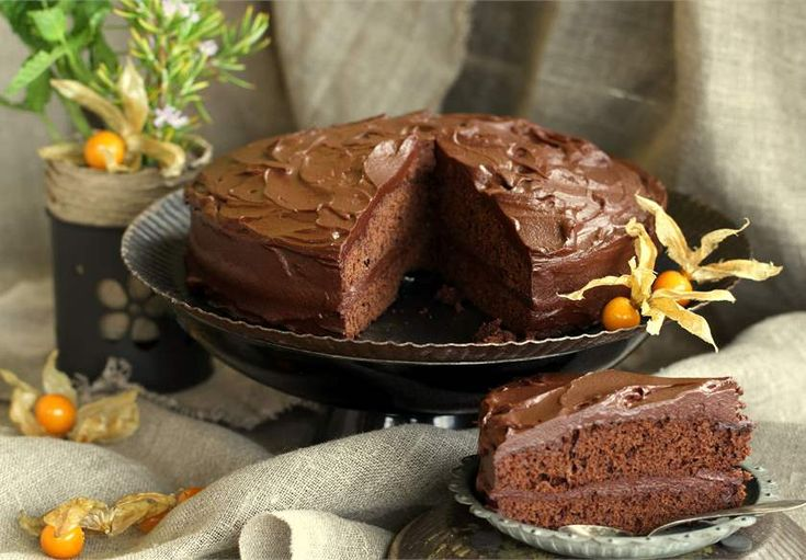 Pastel de chocolate negro 70% al microondas