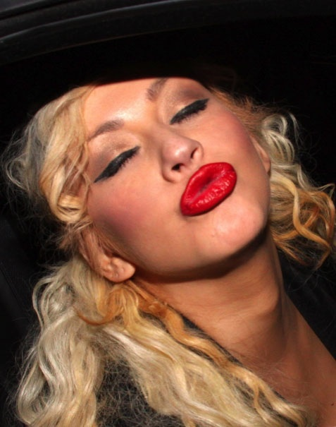 40 Best Images About Christina Aguilera Red Lipstick On