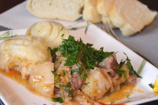 штрудели с картофелем и мясом