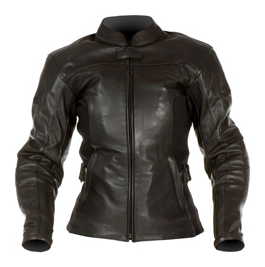 RST Mayfair Ladies Black Leather Jacket