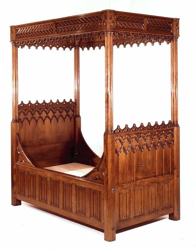 closer to original Medieval style than the 19th century Gothic Revival.ralstonfurniture.com