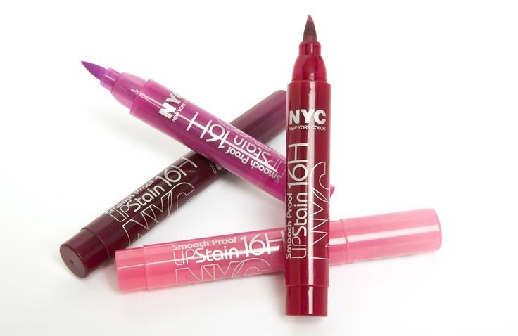 NYC lip pens  http://www.londonbeautyqueen.com