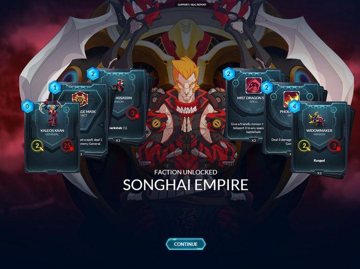 how to play songhai duelyst