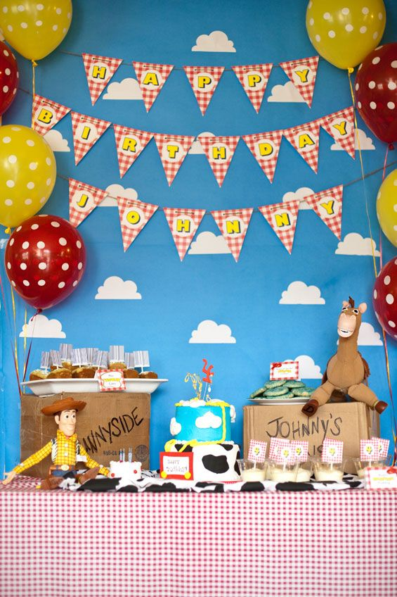 Toy Story 4th Birthday Party