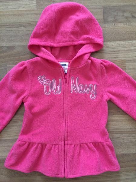 Full-Zip Hooded Sweater (Girls Size 5)