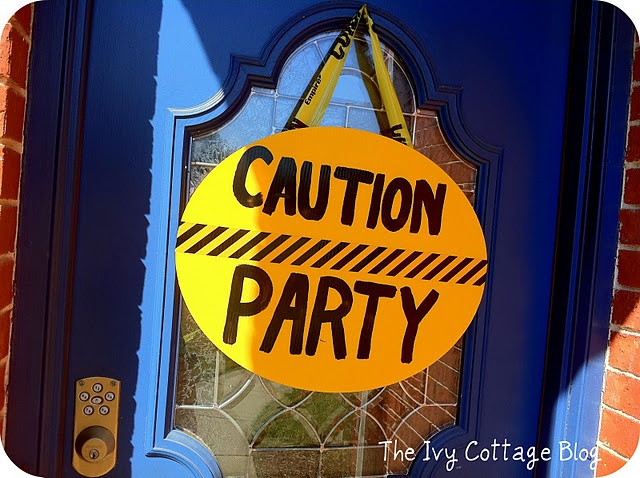 A Construction Themed Party!