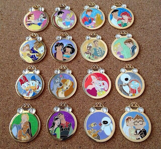 Disney Cruise Line Dogs Mystery Trading Pin Set All 6 Pins