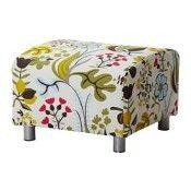 IKEA KLIPPAN Housse pour pouf Blomstermla multicolore (réf.: 80232082)