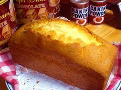 ケーキ屋さんのパウンドケーキ♪
