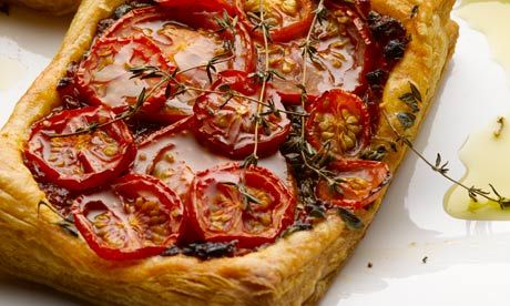 Ottolenghi Tomato Galette. My go-to recipe if  I've got friends coming for lunch.