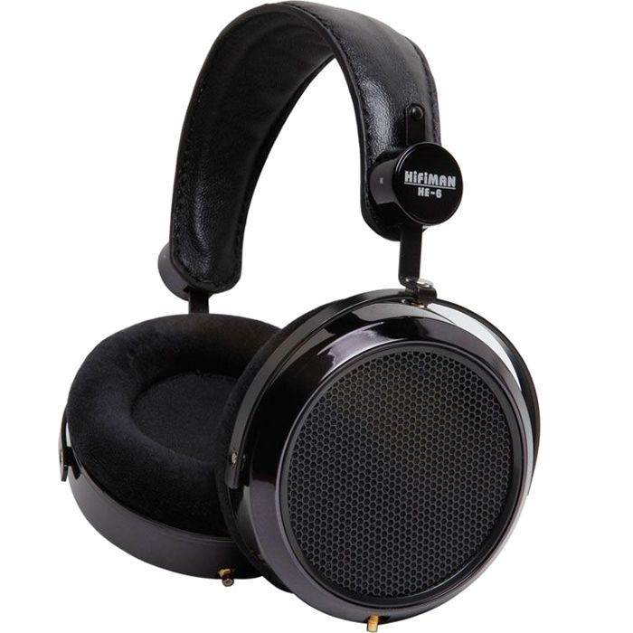"HIFIMAN HE-6 Casque ""Audiophile"" Orthodynamique 83.5dB"