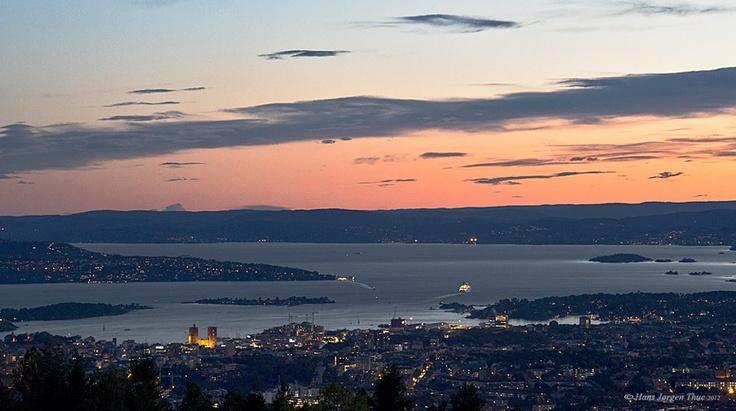 Oslo sett fra Grefsenkollen 20.09.12  Photo av Hans Jørgen Thue