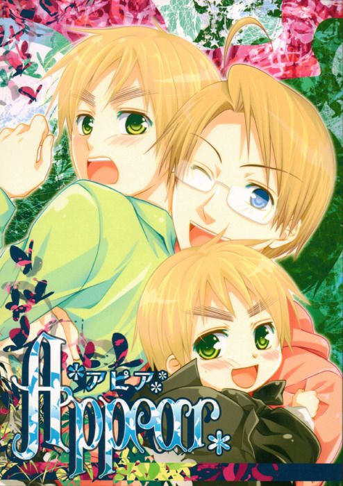 Hetalia USUK doujinshi, Stars America, England and Little chibi England. Follow the link to read....its sooo cute! English translation version. http://all1sees.tumblr.com/post/11175201280/usuk-appear-eng-translation