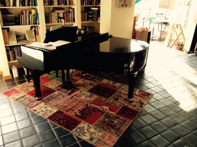 17 best images about vintage tapijten rozenkelims on pinterest carpets brocante and vintage - Tapijt onder de eettafel ...