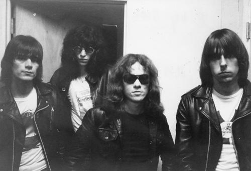 The Ramones at Max's Kansas City, 1976. Photo by Uwe Möntmann.