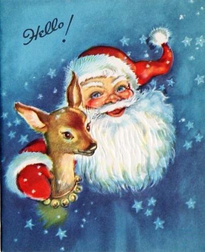 1519 best victorian santa's images on Pinterest ...
