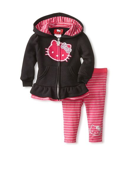 Hello Kitty Fleece Active Set http://myhabit.com/ref=qd_mr_per_l?refcust=YYOJB5UG75YPYUMURN6VUD43BU | See more about Hello Kitty.