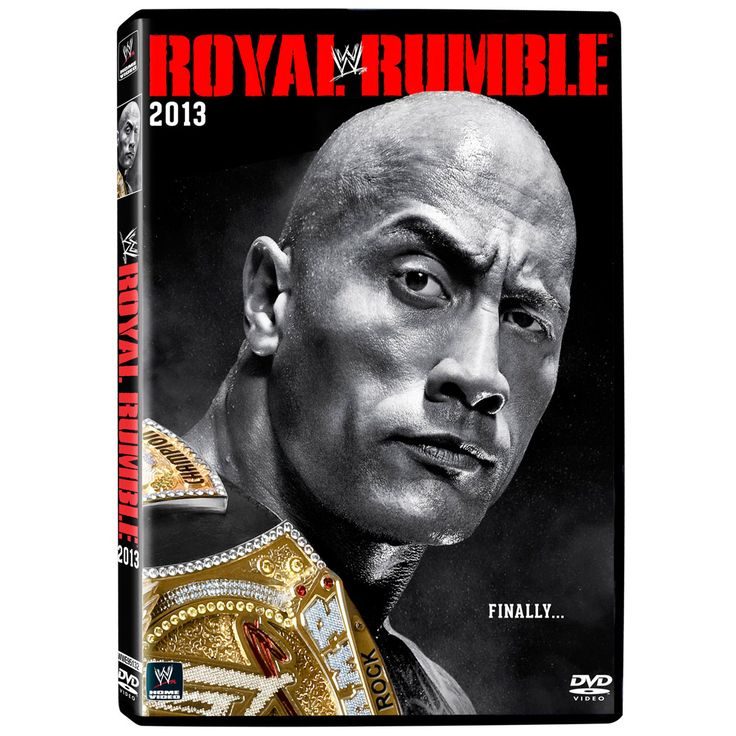 WWE Royal Rumble 2013 DVD - #WWE