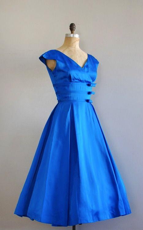 ~1950s party dress by Jonathan Logan~