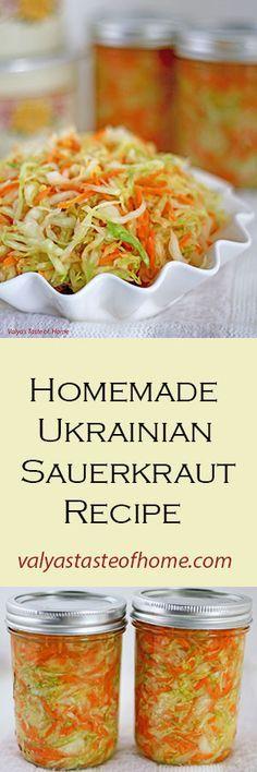 http://valyastasteofhome.com/homemade-ukrainian-sauerkraut-recipe