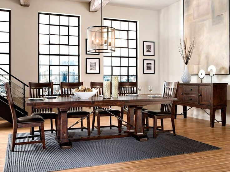 Intercon Hayden Trestle Table With Turnbuckles Dining Room SetsDining