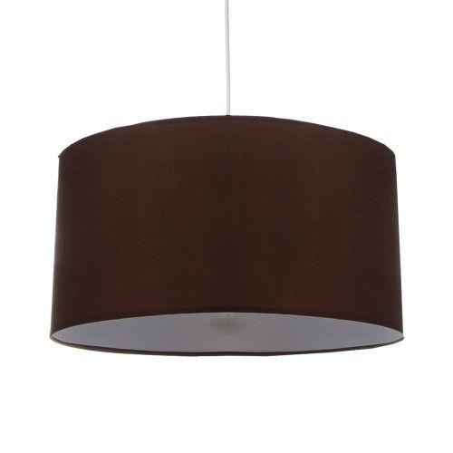 Lámpara de techo en color marrón