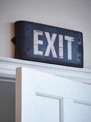 NEW Exit Sign