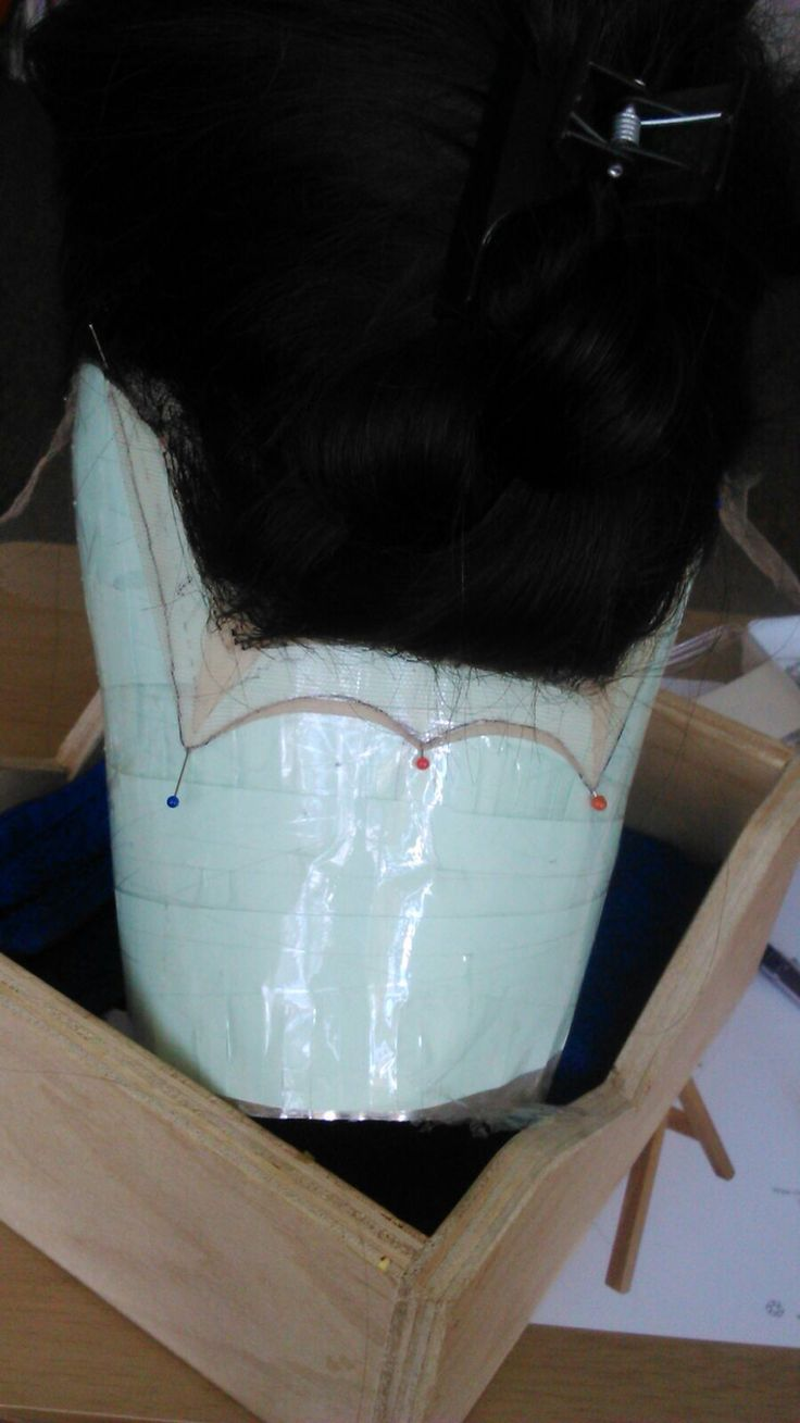 Nape extension Lucile did for Lady Macbeth as supervised by Judith