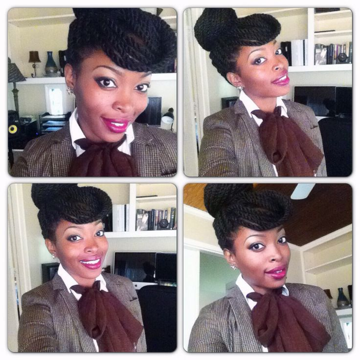31 best havana marley twists hair styles images on pinterest updo with havana twists pmusecretfo Choice Image