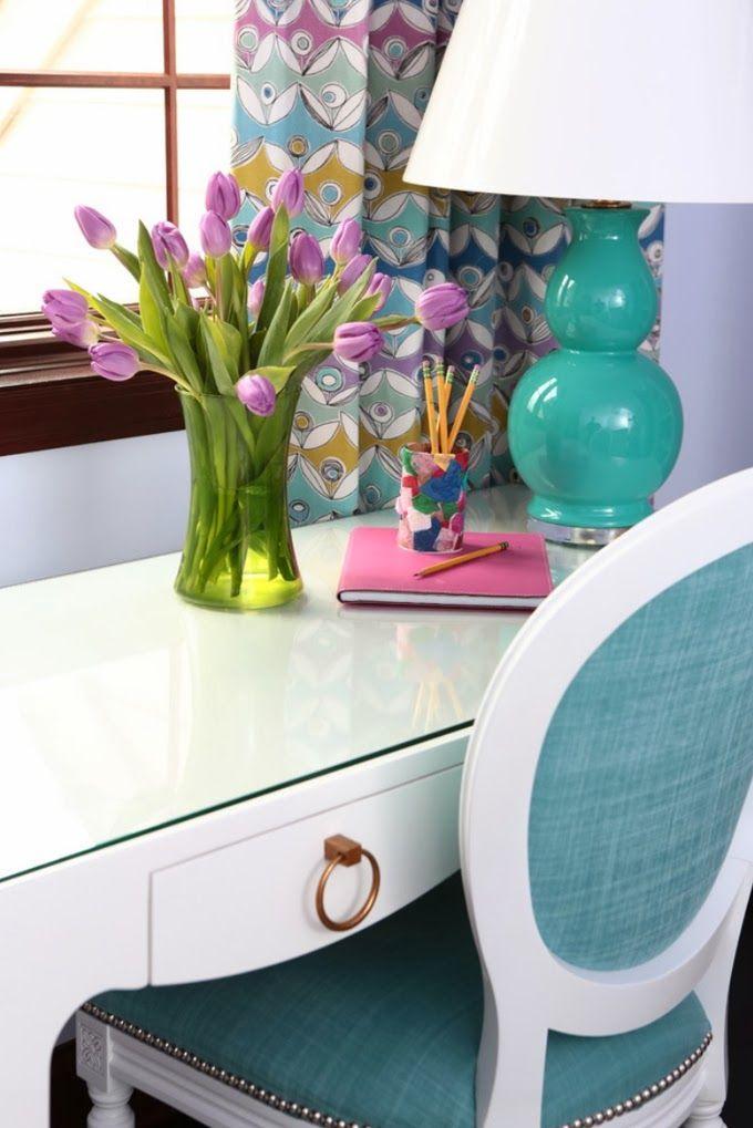 work area | Alisha Gwen Interior Design