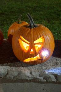 Pumpkin with Cigar: Photo Credit: Oakville News