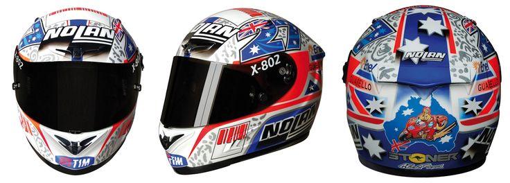 Casey Stoner helmet. #motogp | abcdesign | Pinterest | Helmets, Motogp and Motorcycle helmet