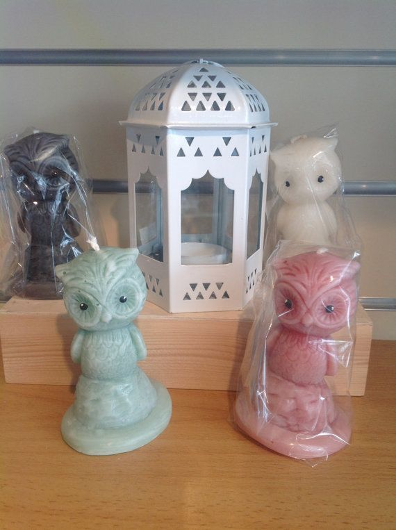 Wise Owl candles. Handmade in a variety of by artofcandles on Etsy
