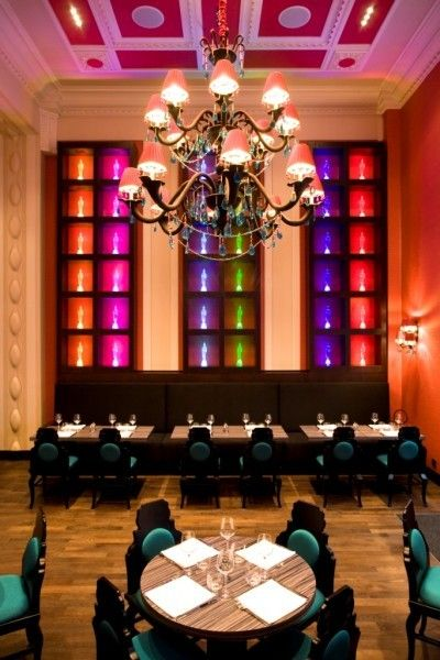 Siddharta Cafe - Buddha Bar Prague… gorgeous jewel tones in an unforgettable setting