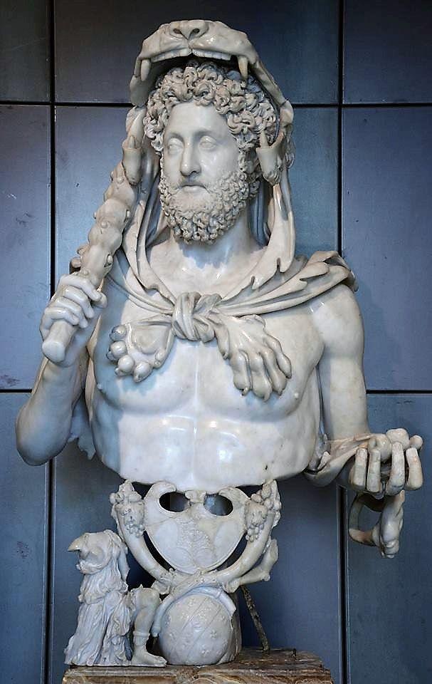 Emperor Commodus of the Roman Empire