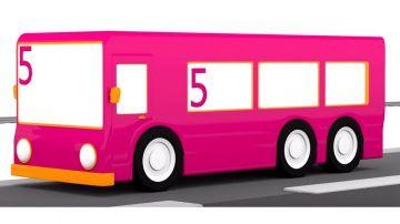 Развивающие мультики для детей от года. 4 машинки. Автобус №5 http://video-kid.com/9952-razvivayuschie-multiki-dlja-detei-ot-goda-4-mashinki-avtobus-5.html  Развивающий мультфильм для самых маленьких 4 машинки. Цифры для детей. Учимся считать до 5. Мультик Автобус №5 похож на развивающую игру. Маша едет на автобусе номер 5, а по дороге ей нужно собирать пятерки. За каждую собранную пятерку Маша получает звезду.  Давайте играть вместе! Учиться считать и повторять цвета.Смотрите другие…