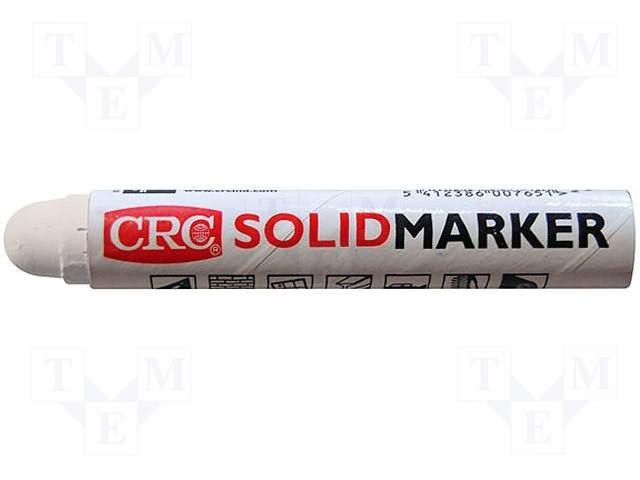 CRC-MARKER-BK CRC | Pisak: znakujący; czarny; MARKER PEN; Kształt końcówki: okrągła | pisaki, mazaki, farby // TME
