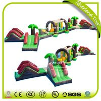 New Giant Inflatable Floating Water Park Games / Inflatable Water Island For Kids And Adults