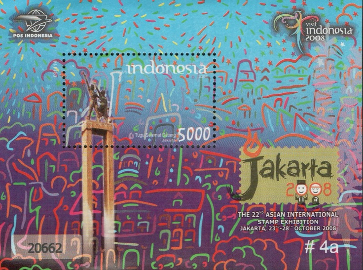 Indonesia stamps 001