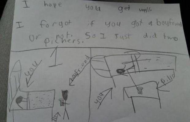 Creepy Kids Drawings   Funny Kid Art Gallery