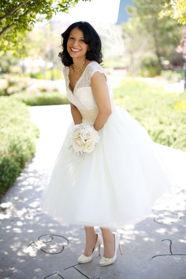 Short Vintage Wedding Dresses | Wedding Dress Of The Week: 'The Avila Bay' By Dolly Couture