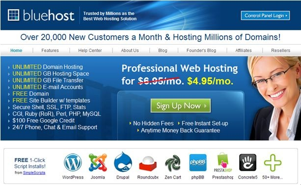 The most reliable web hosting leader since 1996    Global 2,500,000+ websites' common hosting choice