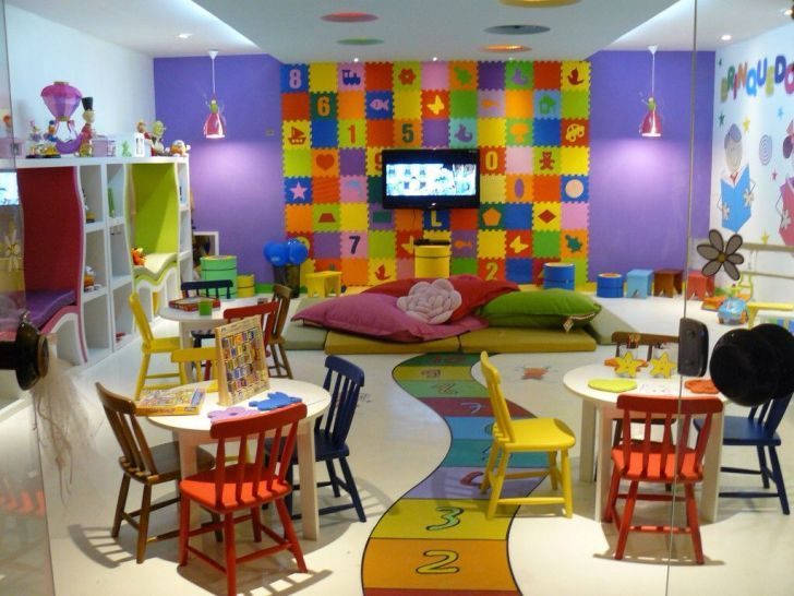 Decoracion De Guarderias Y Estancias Infantiles 2018 En 2019