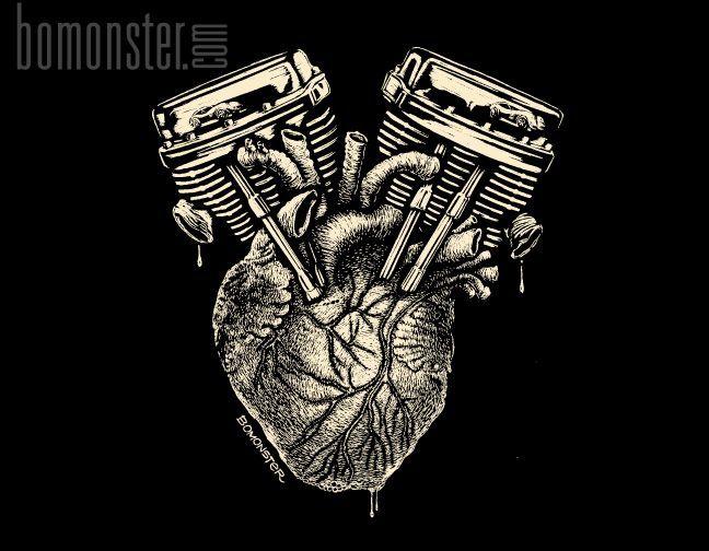 картинки сердце с мотором трутся клиторами