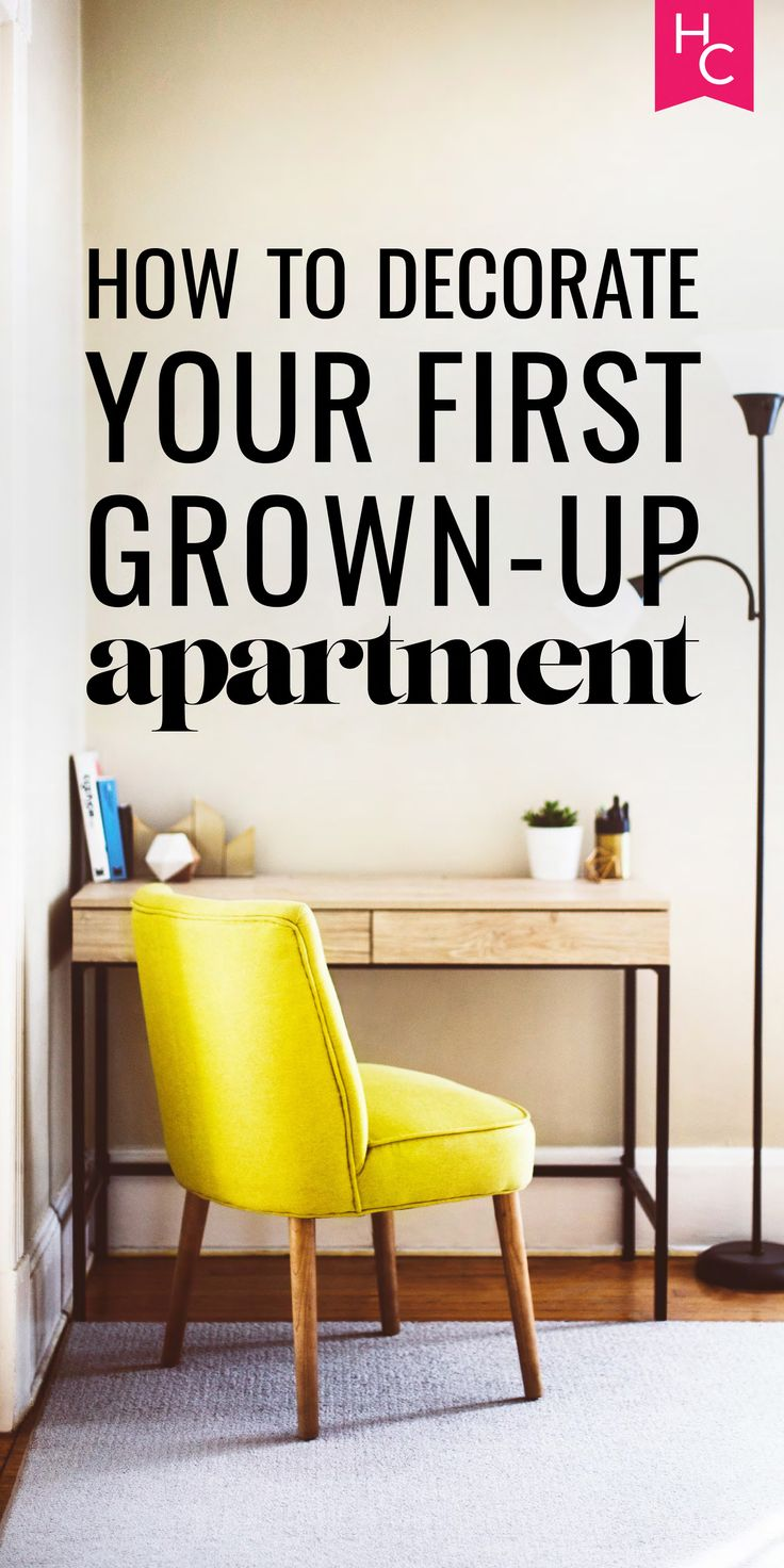 How To Decorate Your First Grown Up Apartment