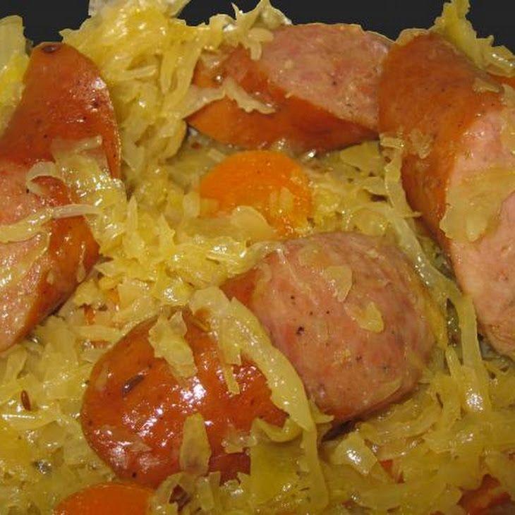Sauerkraut With Polish Sausage Recipe