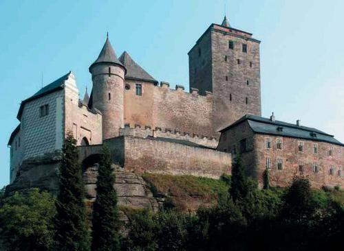 Česko, Kost - Gotický hrad
