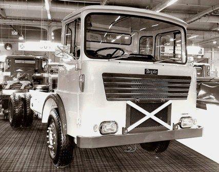 1971 ARGYLE CHRISTINA - Motor Panels cab