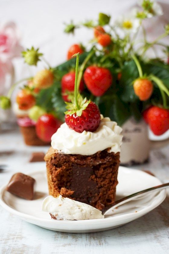 Delicious chocolate cupcakes  || mysweetworld