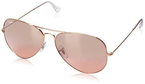 9f064cd88daa Ray-Ban AVIATOR LARGE METAL – GOLD Frame CRYS.BROWN-PINK SILVER MIRROR  Lenses 62mm Non-Polarized. Slight changes in accordance with the state